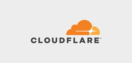 cloudflareのロゴ